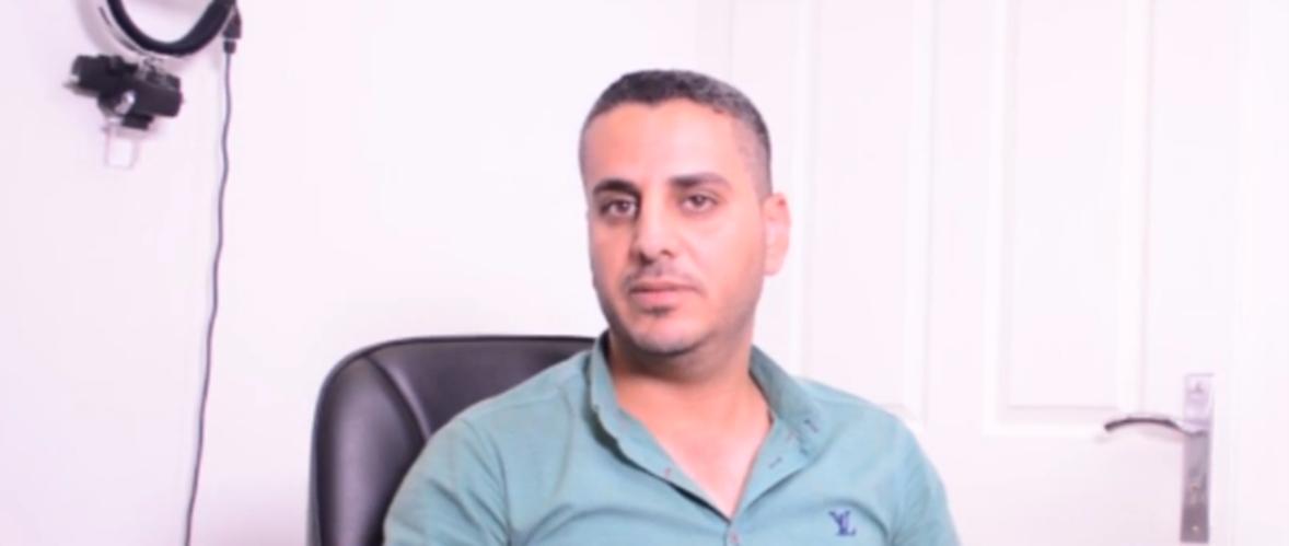 تجربة الاخ زید سالم جواد فی علاجه بمرکز بصیر لطب العیون