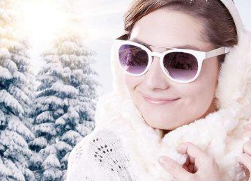 الحفاظ علی العیون فی الشتاء