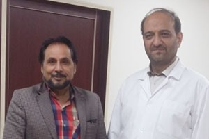 حضور عمو قناد در کلینیک چشم پزشکی بصیر