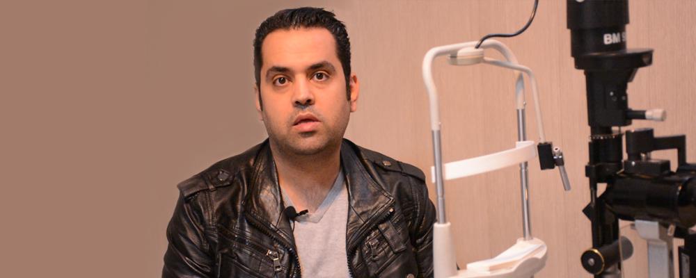 علیرضا اسماعیلی در بصیر تحت جراحی لازک قرار گرفت